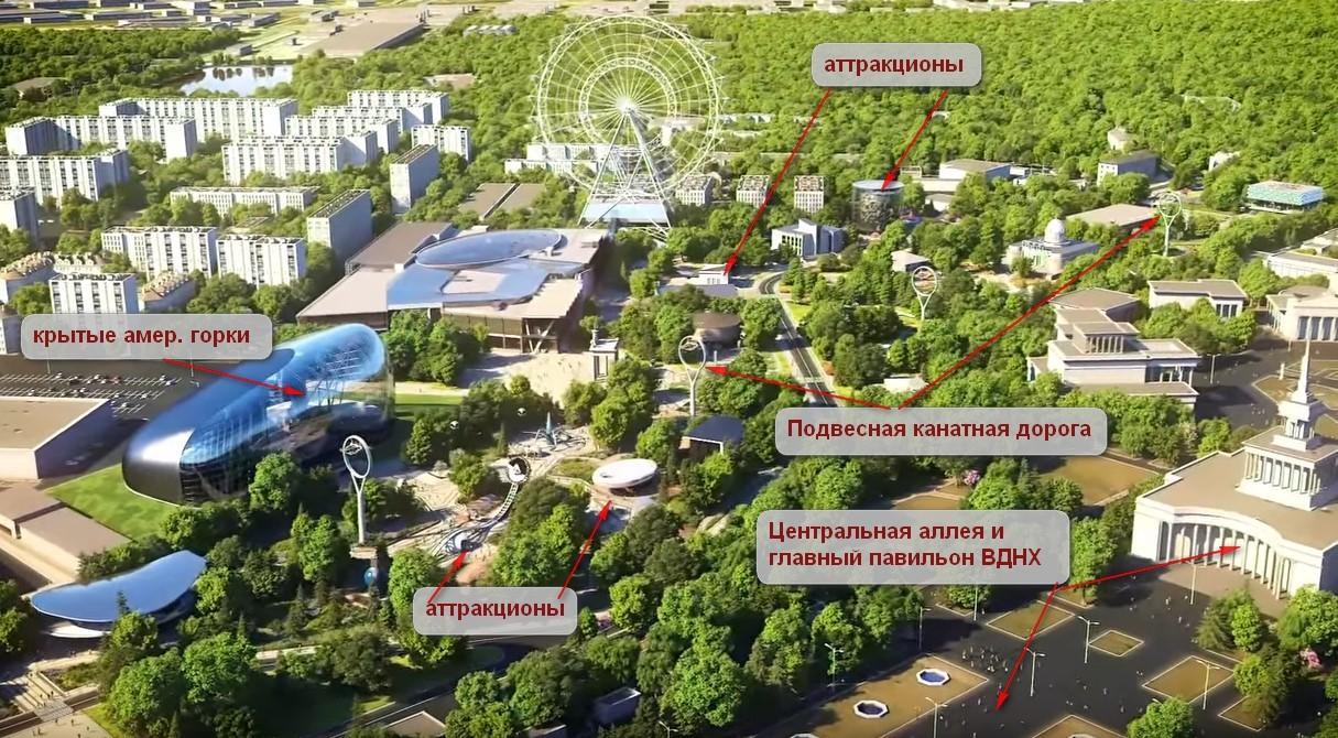 Парк будущего на ВДНХ от Pizzarotti & C. SpA